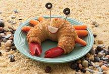 Creative kids food / Creative ways to get your kids to clear their plate