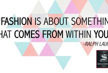 Inspiration / #Quotes #Fashion #Inspiration #Style