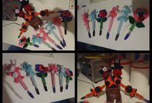 Mis lapiceros decorados