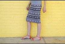 Šité sukne