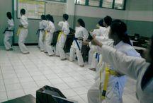 me and karateka