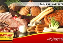 Hams and Sausages