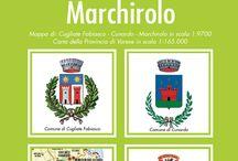 CUGLIATE FABIASCO - CUNARDO - MARCHIROLO / Mappa edizione 2016 dei comuni con tutte le informazioni sugli uffici comunali, sui paesi e con lo stradario