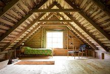 home . attic / by Jessie Fields