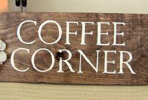Church coffee corner