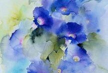Impresionistic flowers