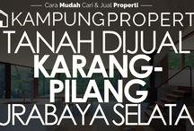 Tanah Dijual / Disewakan di Surabaya Selatan