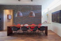 Salle à manger  |  karyneetsesrenos.com / Inspirations pour l'aménagement de ma salle à manger...