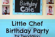 chef birthday party
