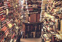 BIBLIOTHÈQUES & LIBRAIRIES / Bibliothèque et librairies en tout genre