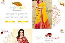 Utsav Fashion Showcase / Showcase of the ethnic Indian wear collections available on the website www.utsavfashion.com