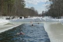 "Winter Swimming Pics / Board dedicated to winter swimming. ""Serebryaniy Bor"" Club. Russia. Moscow."
