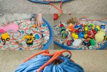 toy mat bag
