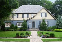 Exterior colors by Amy Wax / Exterior color palettes created by color expert Amy Wax