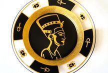 Egyptian / Egyptian Art Decor Egyptology Egypt Nefertiti History African Art