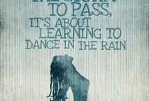 kiss & dance in the rain