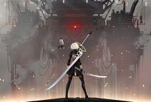 Art anime/game