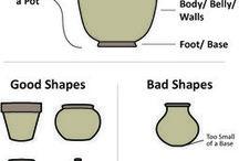 Keramik blandet