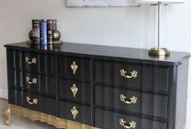 French  Provincial Gold Dip