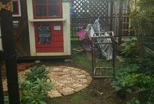 DIY物置小屋ガーデン