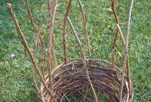 grape vine/willow
