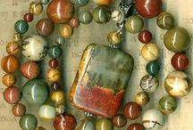 stone and organic beadwork / by curleytop1