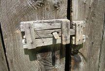 деревянные замки