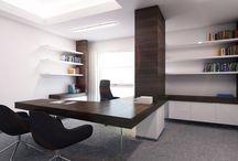 Hotel International Brno - kancelář ředitele a sekretářky / Požadavkem investora bylo navrhnout prostor v odlehčeném duchu tak, aby co nejlépe splňoval nároky na ergonomii a hygienické faktory a zároveň působil netradičně a nápaditě.