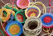 Kid Weaving Projects / by Mayda Garcia