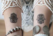 Fátima hand tattoo