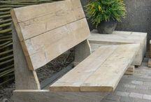 Скамейки и садовая мебель