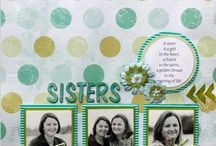 My scrapbook layouts!! / Scrapbook layouts that I have created!!