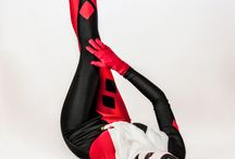 latex female superheros cosplay