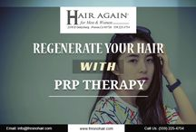 Platelet Rich Plasma (PRP) Hair Therapy