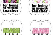 Teacher present ideas