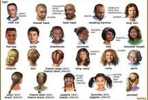 ENGLISH / english hairstyles worksheets