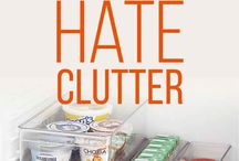 Hate clutter