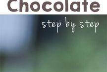 chocolate, home  made