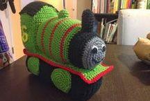 crochet Percy train