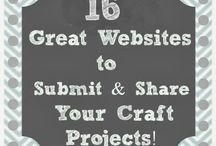 She's Crafty► Craft Websites