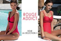 """ROUGE ADDICT / Adoptez la tendance """"ROUGE"""" avec les maillots de bain sculptant Livia Monte Carlo"""