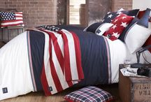 American Freshman Bedding / Derived from varsity living and with influences from across the Atlantic, the result is a contemporary range depicting an authentic revival of American style.