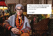 Iris Apfel and friends