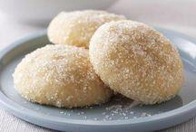 cookies coated sugar