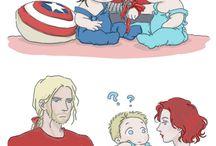 Steve and Bucky Babies ❤