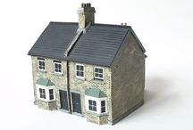 Semi Detached houses and mills / :s