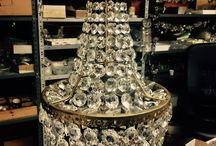 Basket chandeliers / Antique basket chandelier by Luxdomus ltd
