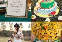 wizard of oz themed wedding