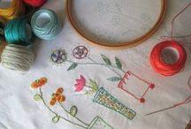 Croche, Tricô, Bordado e Ponto Cruz / Entre agulhas, fios, linhas e muita criatividade.