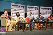 WWI Masterclass with WWI Alumni- Team of Short Film, Time Machine / A  wonderful session by team of Short Film,Time Machine. The team comprising of #WWIAlumni Arati Kadav, Zain Matcheswalla. Zenish Mehta shared their insights into making of the film. Also present were actors of the film Twinkle Patel and Loveleen Mishra who shared their experience of working with our alumni